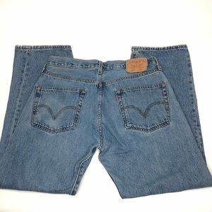 Levi's Jeans - Vintage Levis 501 Button Fly Medium Wash Jeans 34